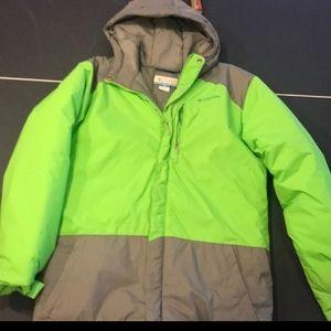 Boys size xl Columbia coat